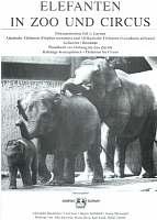 EEGs first documentation; Elefanten am Zoo und Circus